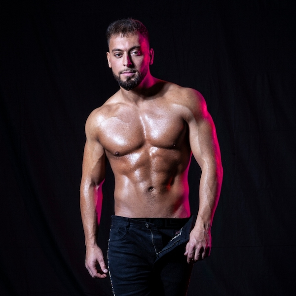 male strippers from the Dreamboys male strip club | Chambers Whittle