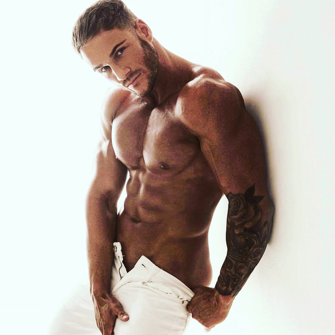 male strippers from the Dreamboys male strip club | Glen Wastson