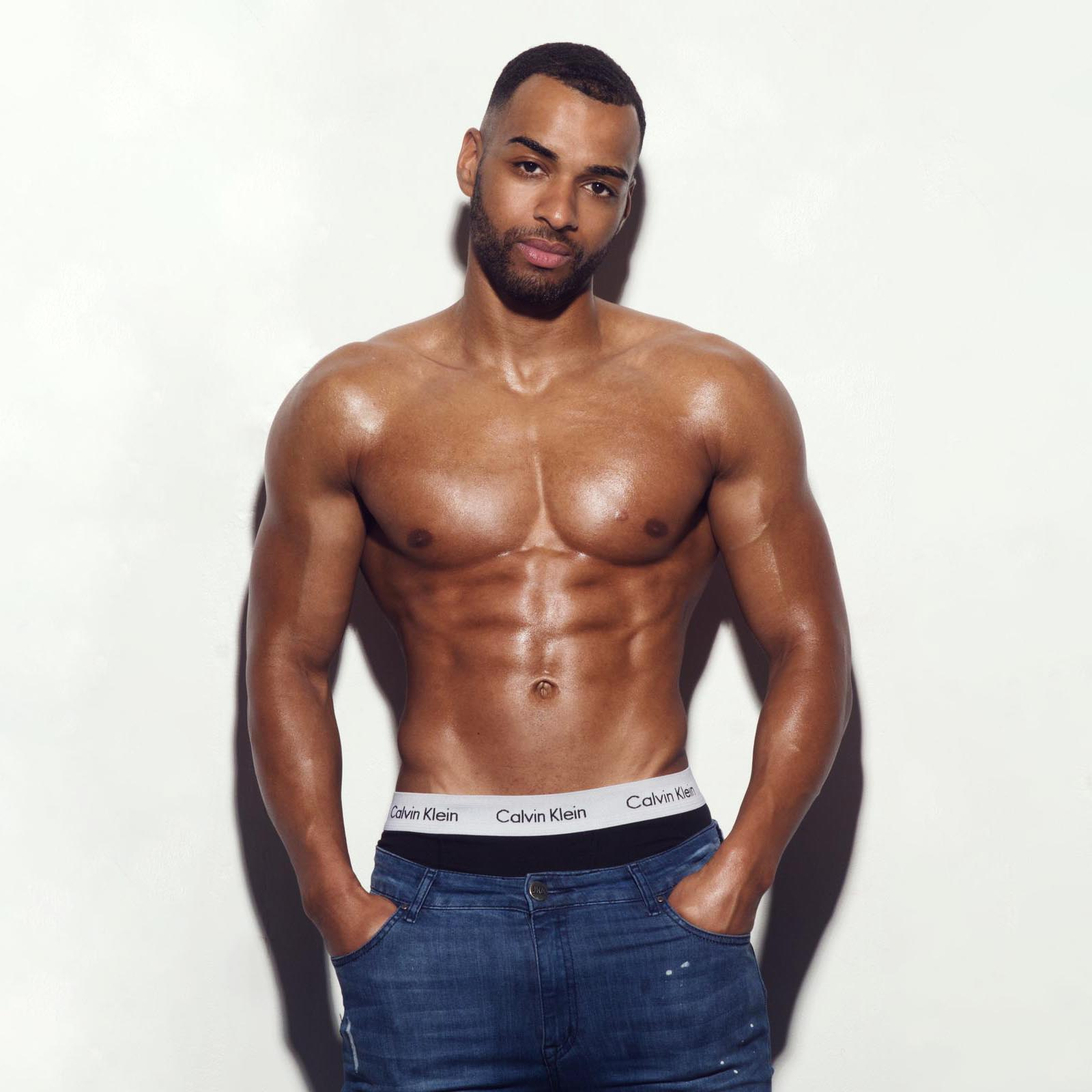 male strippers from the Dreamboys male strip club | Mikey Owusu
